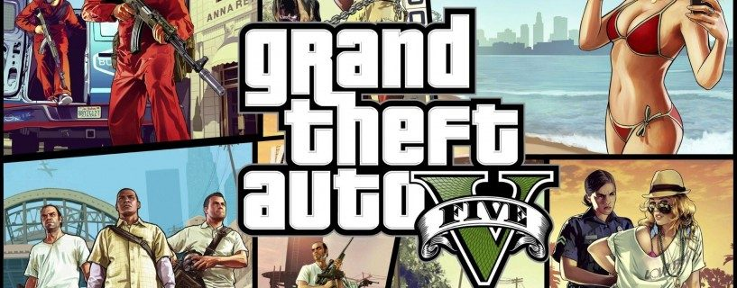 GTA V on myös FPS peli