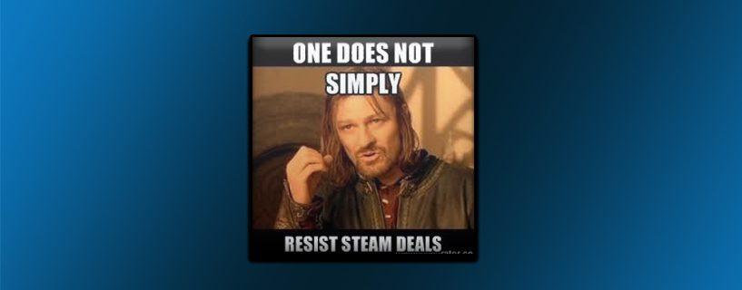 Useat Steam pelit jäävät pelaamatta
