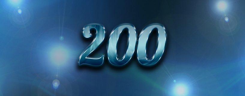 200 jäsenen raja rikkoontui