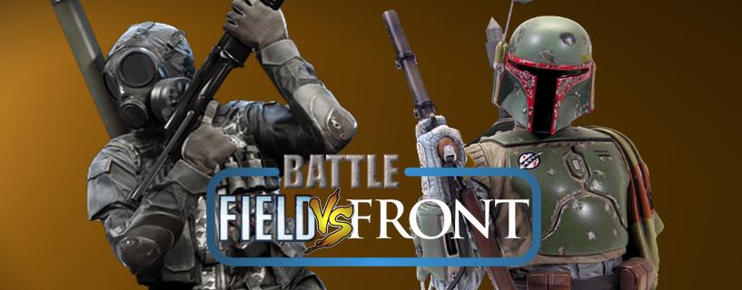 Battlefieldin ja Battlefrontin eroja