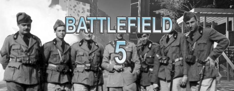 Battlefield 5 on tulossa