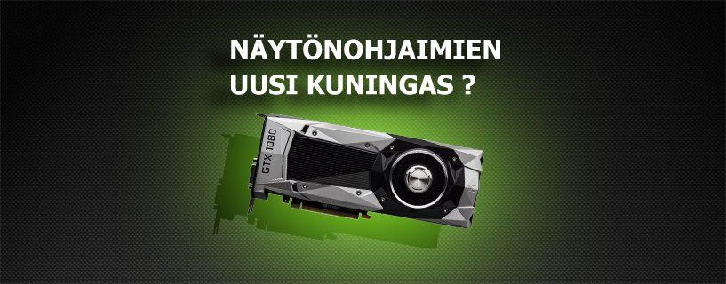 Uusi kuningas: Geforce GTX 1080