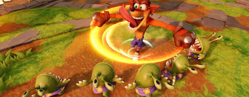 Crash Bandicootin paluu