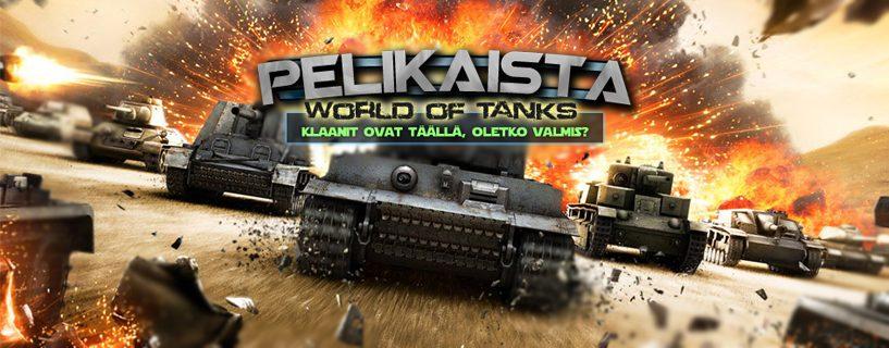 Tankit vyöryivät Pelikaistalle