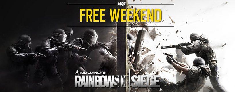 Rainbow Six Siege ja ilmainen viikonloppu