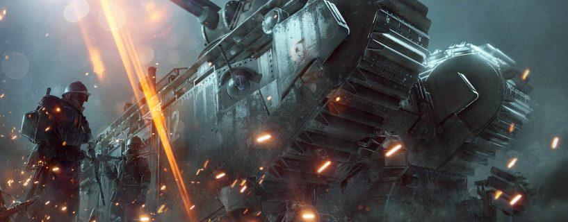 Battlefield 1 ilmaisviikonloppu 3. – 6.3.2017