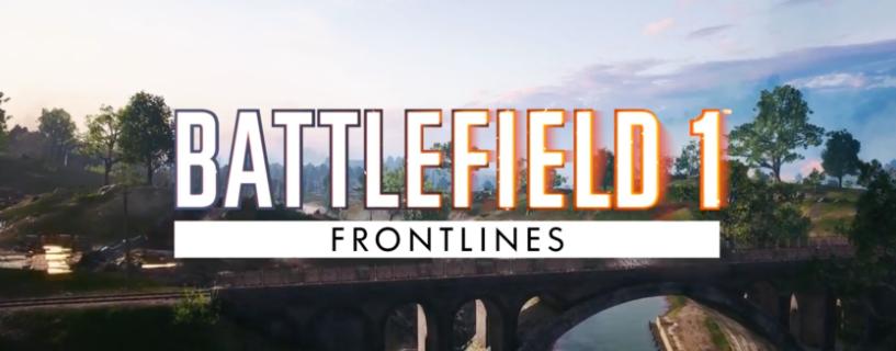 BF1 uusi pelimuoto Frontlines