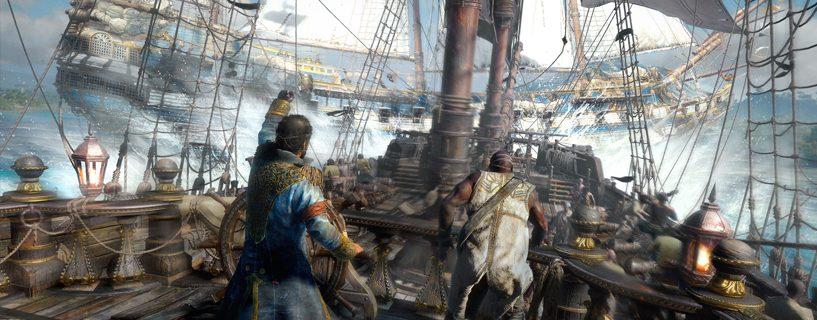 Meritaistelupeli Skull and Bones sisältää yksinpelin
