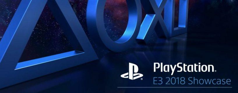 E3 2018: Sony